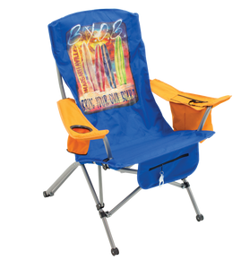 Margaritaville Suspension Chair, Bring Your Own Board, Teal/Orange