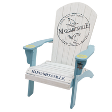 Load image into Gallery viewer, Margaritaville Wood Adirondack Chair, Fins to the Left