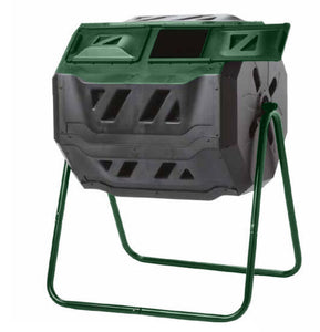 Mr. Spin Dual Compartment Compost Tumbler