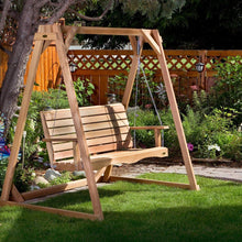 Load image into Gallery viewer, All Things Cedar Porch Swing