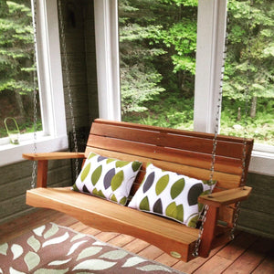 All Things Cedar Porch Swing - Storage Sheds Depot