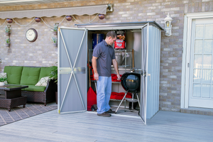 Arrow Spacemaker Patio Shed, 5x3