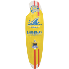 Load image into Gallery viewer, Margaritaville Landshark Bottle Opener Sign with Magnetic Cap Catcher