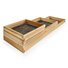 Load image into Gallery viewer, All Things Cedar 3-Step Tiered Garden Box