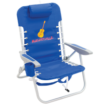 Load image into Gallery viewer, Margaritaville 4-Position Backpack Beach Chair