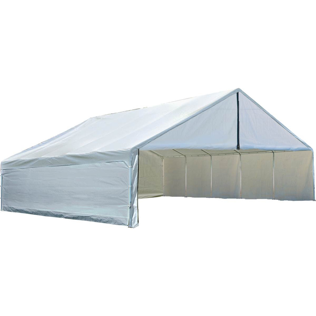 ShelterLogic 30x40 White Canopy Enclosure Kit, FR Rated