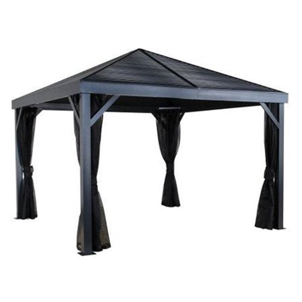 Sojag 500-8162769 12 x 12 ft. South Beach No.93LLL Gazebo - Steel