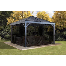 Load image into Gallery viewer, Sojag 500-8162769 12 x 12 ft. South Beach No.93LLL Gazebo - Steel