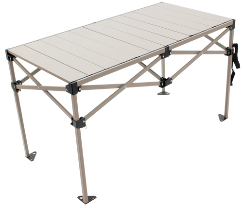 RIO Gear Aluminum Roll Top Table 48 x 25 in.