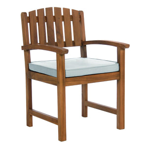All Things Cedar Teak Dining Chair - Storage Sheds Depot