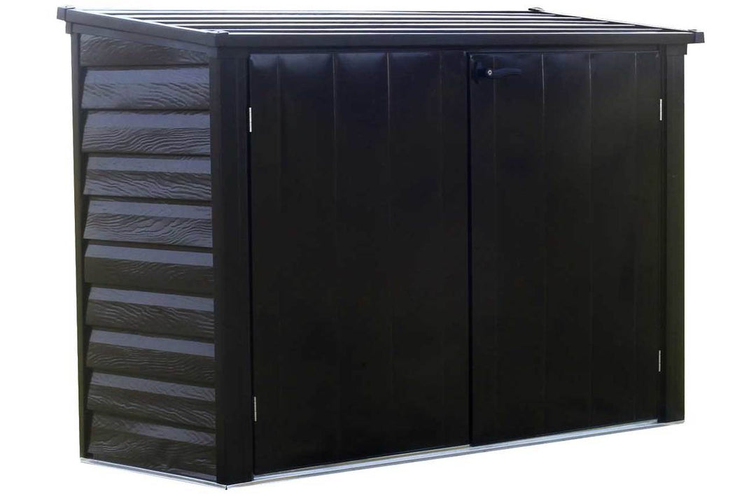 Arrow Versa-Shed™, 6x3, Locking Horizontal Storage Shelter, Onyx
