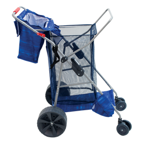 RIO Beach - Beach Cart - Wonder Wheeler Deluxe - Textured Dark Blue Water Color