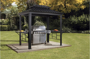 Sojag BBQ Messina #77 Gazebo 6'x8' Steel Roof