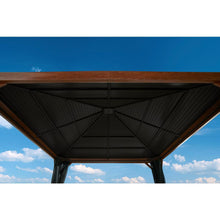Load image into Gallery viewer, Sojag™ 12 x 12 ft. Valencia Wood Finish Gazebo with Mosquito Netting