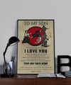 AI036 - To My Son - Your Way Back Home - Love Dad - Aikido Poster