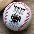 (BB25) BAB033 - Dad To Son - Your Way Back Home - Warrior - Baseball Ball
