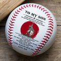 (BB30) BAB043 - Dad To Son - I Will Always Love You - Knight Templar - Baseball  Ball