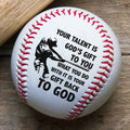 (BB46) - BAB085 - Your Talent Í God's Gift To You - Baseball Ball