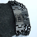 Engrave PLB005 - Call On Me Brother - German - Police Bracelet