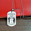 Engrave PLD001 - Call On Me Brother - Police Dog Tag