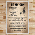 FM016 - Mom To Son - The Beat Of My Heart - The Happiness In My Life - The Energy Of My Soul - Family Poster