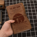 FMN130 (JT8) - Dad To Son - That You Will Never Lose - Vintage Journal - Family Notebook