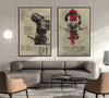 SA021 + SA049 - 7 5 3 CODE - I'm Not Going To Lose - Home Decoration - Samurai Poster