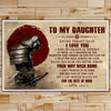 SA091 - Dad To Daughter - Your Way Back Home - English - Samurai Poster