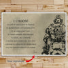 SD014 - I Choose - English - Soldier Poster