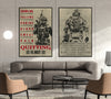 SD018 + SD032 - Show No Mercy - Quitting Is Not - Home Decoration - Soldier Poster