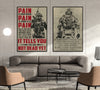 SD018 + SD033 - Show No Mercy - PAIN - Home Decoration - Soldier Poster