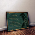 WA110 - I Choose - English - Warrior Poster
