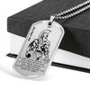 Warrior - Spartan - IF - Show No Mercy - Military Ball Chain - Luxury Dog Tag