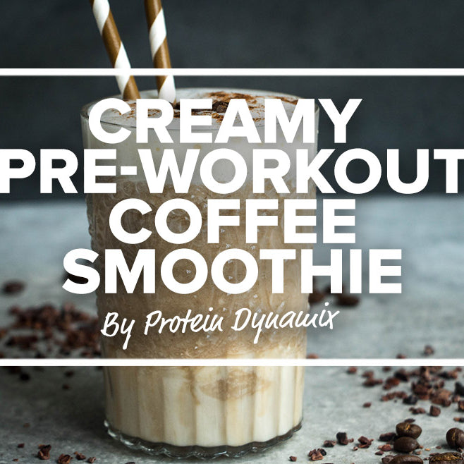 Creamy Pre-workout Coffee Smoothie