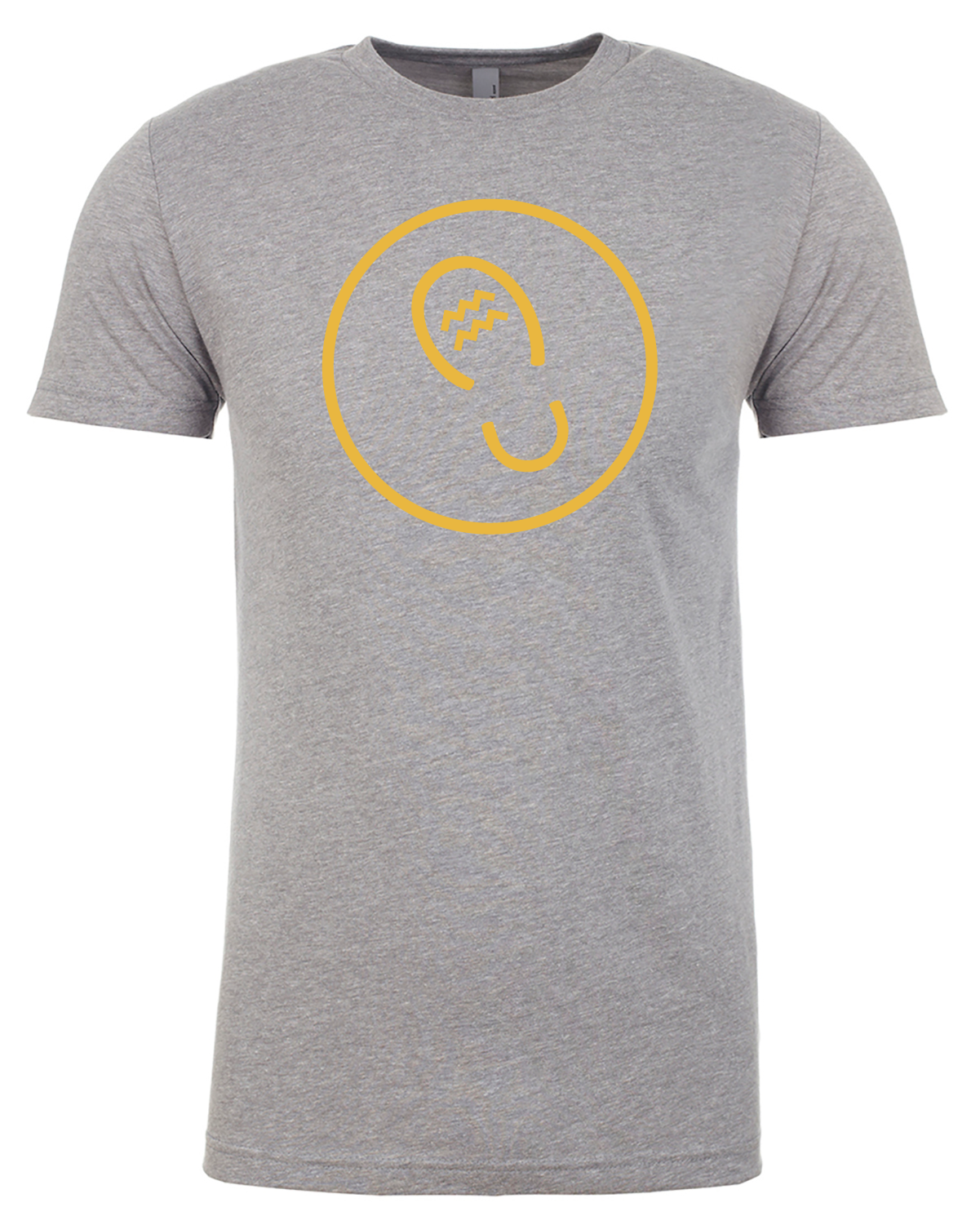 Heather Grey Circle Shirt