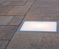 6x9 LED Paver Light illuminated - Nox Lighting