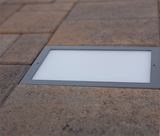 6x9 LED Paver Light with Belgard Paver - Nox Lighting