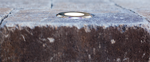 Cored Paver Light Recessed in Paver - Nox Lighting