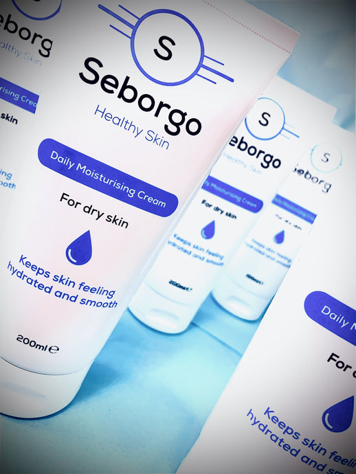 Seborgo in action! dry skin gone! :)