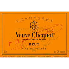 Load image into Gallery viewer, Veuve Clicquot Champagne in 'Paris' Arrow Magnet Gift Box