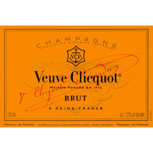 Veuve Clicquot Yellow Label Champagne Ice Jacket with easy to carry handle 75cl