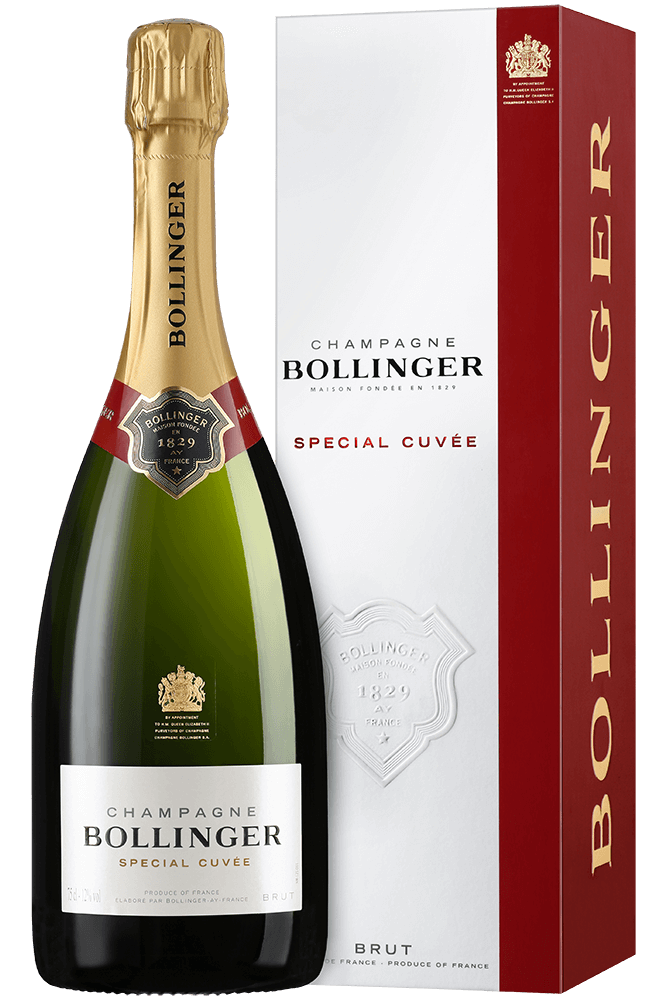 Bollinger Special Cuvee Brut Champagne Gift Box 75cl