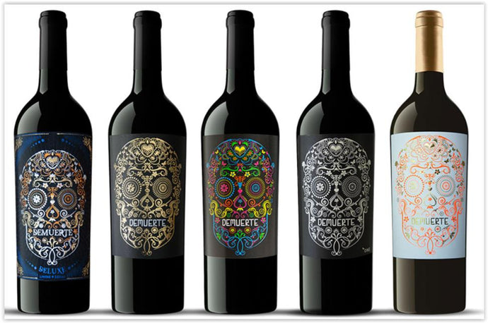 ''DEMUERTE SELECTION'' CASE OF 5 BOTTLES 75cl : (Red) 14.5% vol (White) 12.5% vol