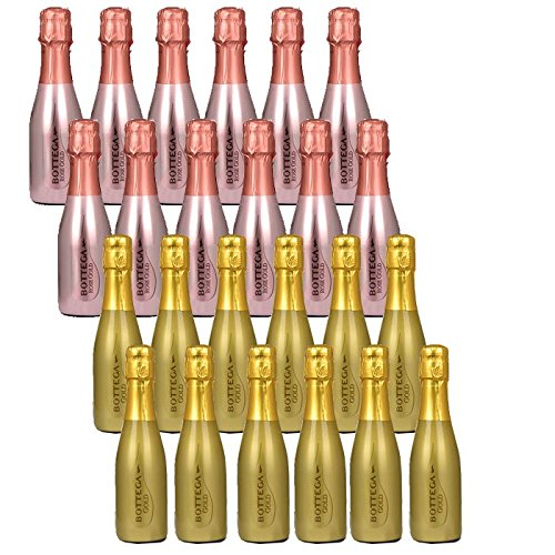Bottega - Rose & Gold Sparkling Wine Case of 24 x 20cl