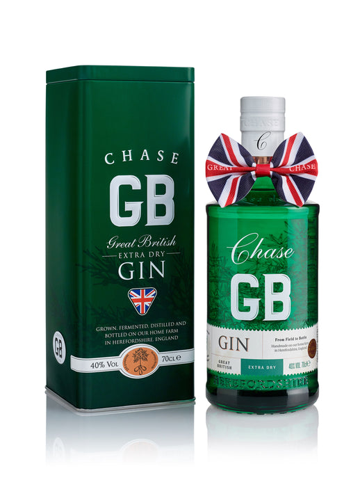 Chase GB Gin in a Branded gift Tin 70cl