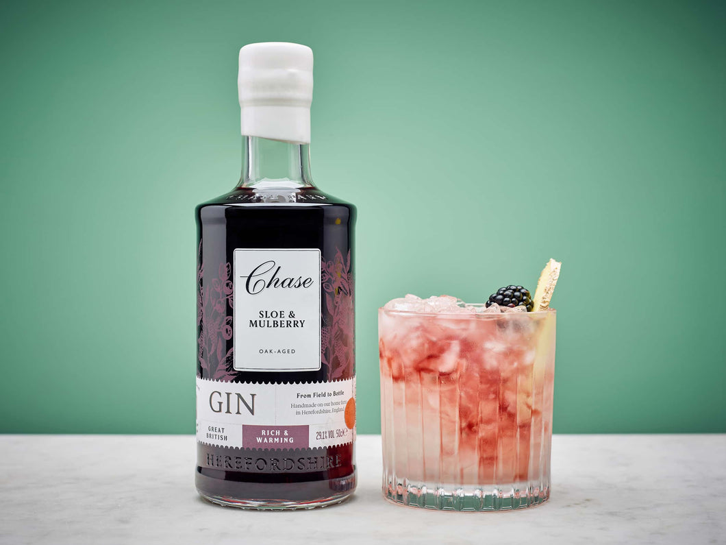 Chase Oak-Aged Sloe Mulberry Gin  50cl