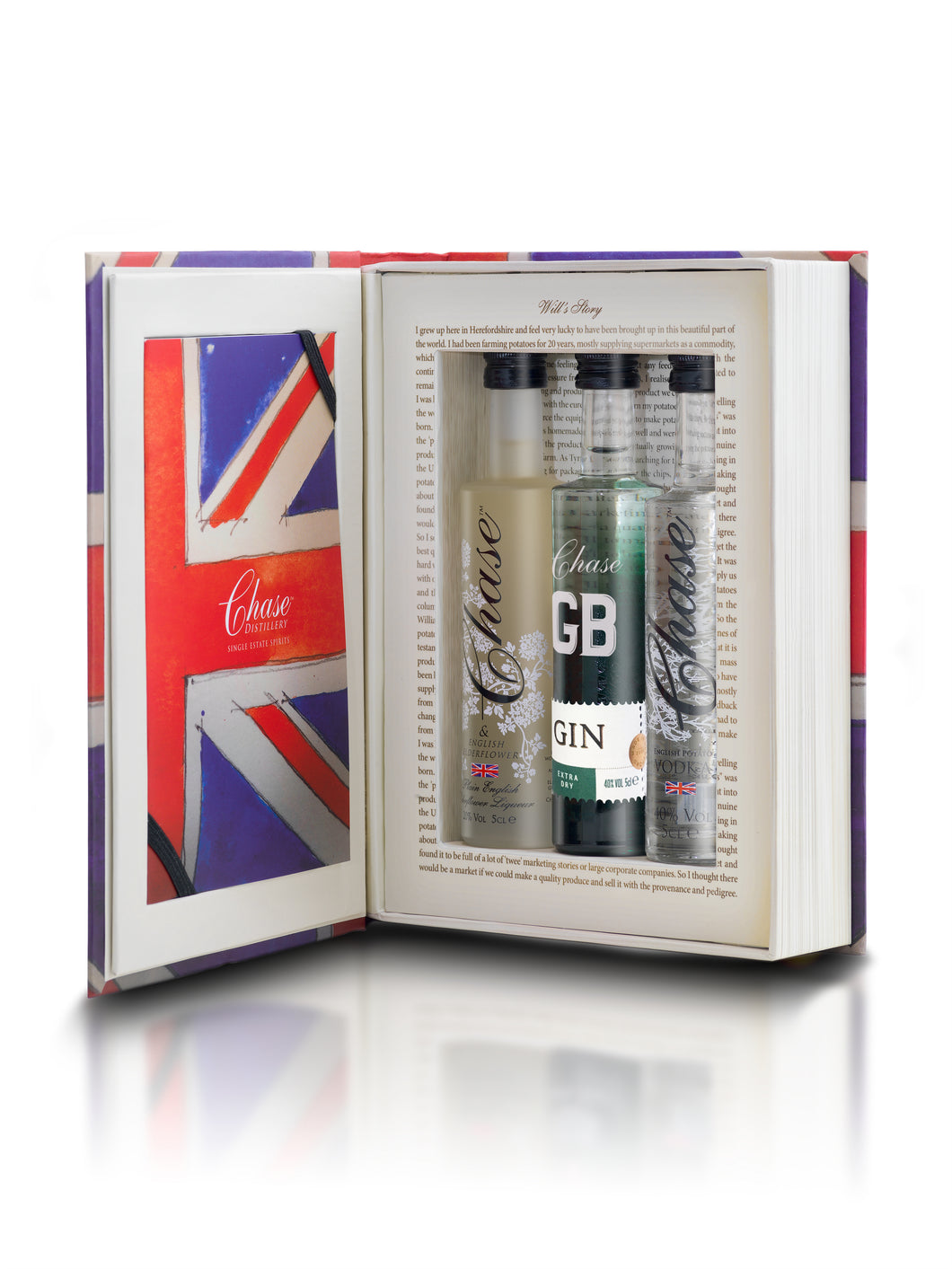 Chase GB Brand Book Trio - Elderflower