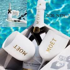Moët & Chandon Ice Impérial Champagne + 2 Moet drinking Goblets