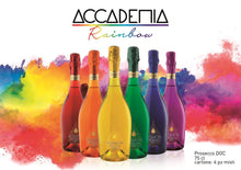 Load image into Gallery viewer, RAINBOW PROSECCO x 6 75cl bottles (by Bottega Limited edition)