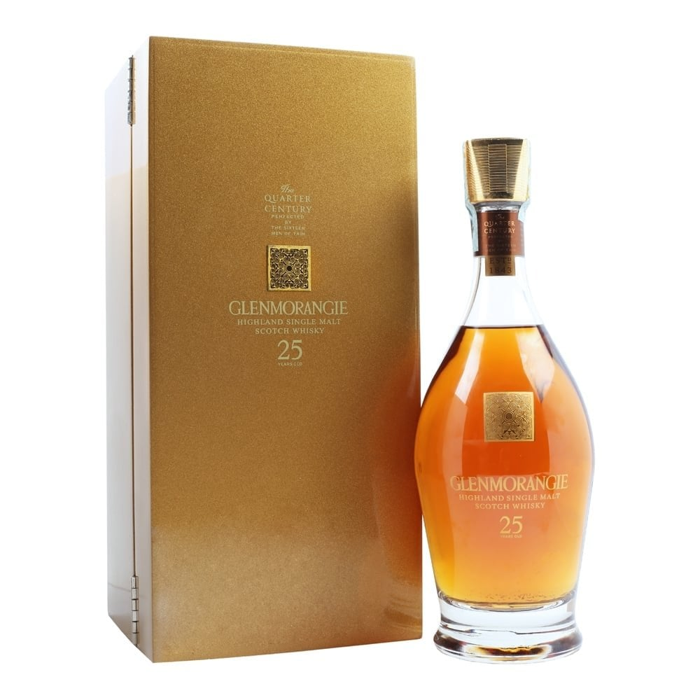 Glenmorangie Whiskey - 25 Years Old 70cl